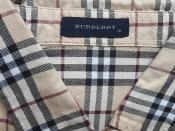 Robe Burberry 12 ans