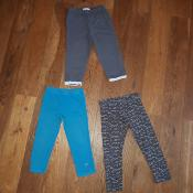Lot Leggings 3 ans